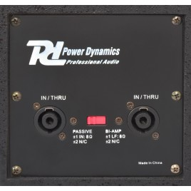 "POWER DYNAMICS PD-3215 PA-Speaker 2x 15"" 1000W"