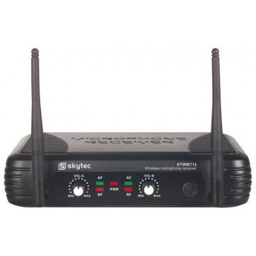 STWM712 VHF Microfoon Systeem 2-kanaals