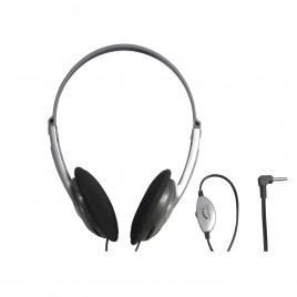 Lichtgewicht Stereo Hoofdtelefoon met Volumeregeling, 5 meter