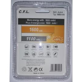 Oplaadbare Ni-Mh AAA / mini penlight batterijen