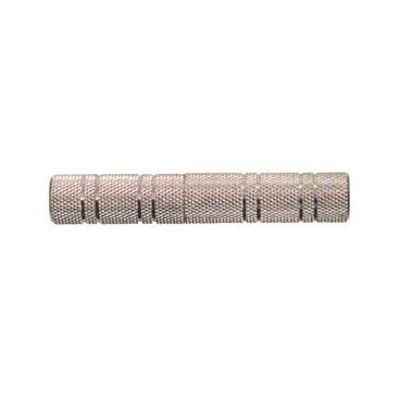 6.35mm mono kontra stekker - 6.35mm mono kontra stekker in metalen uitvoering