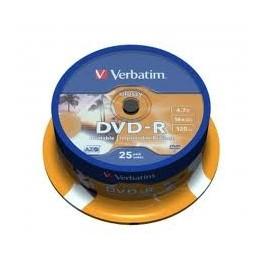 Verbatim DVD-R 25 Stuks Spindel
