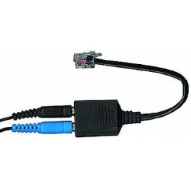 Headset Telefoon Adapter HS-11 In: 2 TRS jack 3,5 mm, Out: RJ11connector