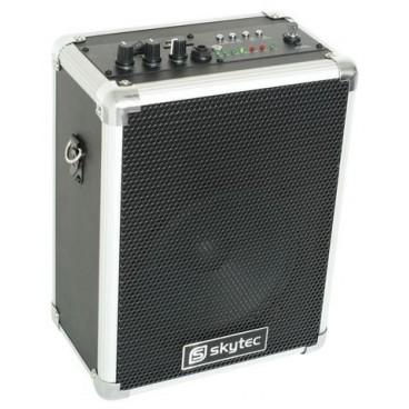 ST-030 Draagbare Luidspreker 50W/USB/SD/VHF incl 1x draadloze microfoon