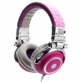iDance Disco300 Hoofdtelefoon Roze-Paars