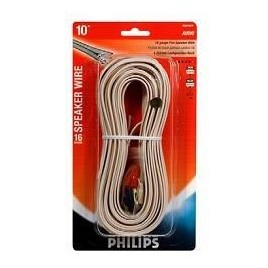 Philips Luidsprekerdraad SWA2138 met aansluitingen en beschermkopjes