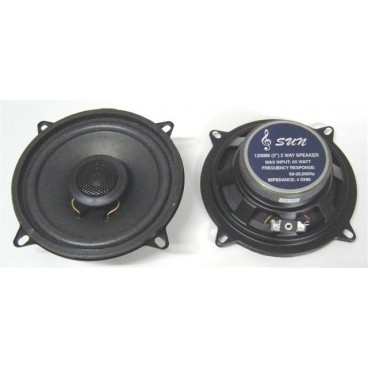 SUN 5 13cm 2 weg inbouw speakers 60 watt