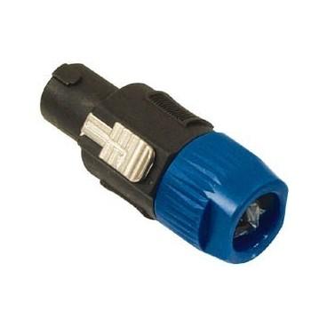 SPK-4 speaker plug (4p) speakon met lock systeem