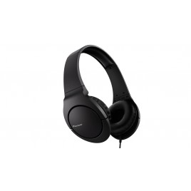 Pioneer SE-MJ741-K Ultralight on-ear headphones Bass Head series