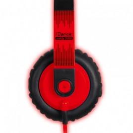 iDance SEDJ700 Hoofdtelefoon Rood