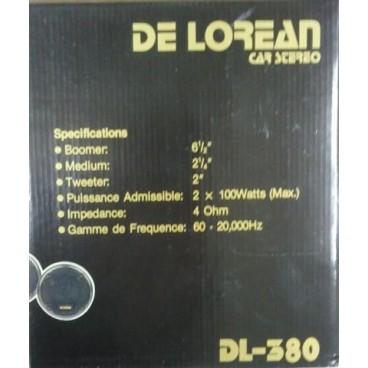 DE LOREAN DL-380 17cm-3 Weg Compo Kit