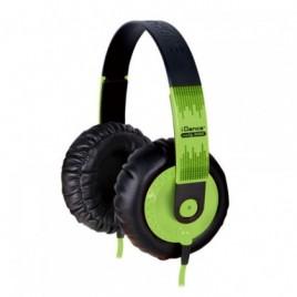 iDance SEDJ500 Hoofdtelefoon Groen
