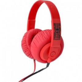 iDance SDJ750 Hoofdtelefoon Rood