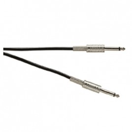 Soundlab 6.3 mm Jack-Jack Gitaar Kabel, 6.0 meter
