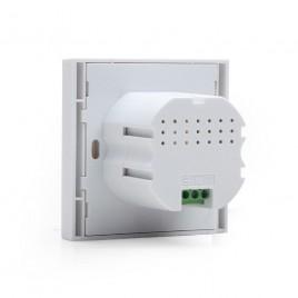 Cablexpert Inbouwstopcontact met dubbele USB-lader, wit