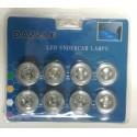 Dazzle LED lampen voor in/onder auto