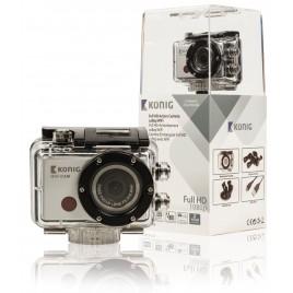König Waterdichte Full HD-actiecamera met WiFi en 1080p