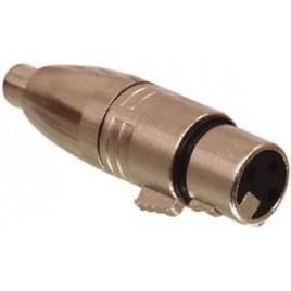 3p XLR kontra stekker - tulp kontra stekker