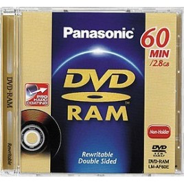 Panasonic MINI DVD-RAM | 60min / 2.8GB | Voor o.a. DVD Recorders & Camera's