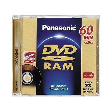 Panasonic MINI DVD-RAM | 60min / 2.8GB | Voor o.a. DVD Recorders & Camera's