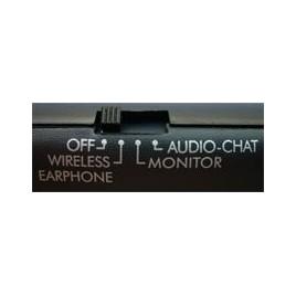 MH2001 Draadloze Koptelefoon met FM Radio