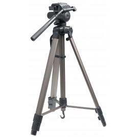 König Camera/Video Statief Pan & Tilt 161 cm Zwart/Zilver