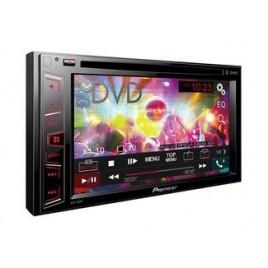 Pioneer Dubbel DIN Auto DVD Speler met Bluetooth