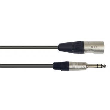 New Jersey Sound Male XLR Male naar 6.35mm Mono Jack Microfoonkabel