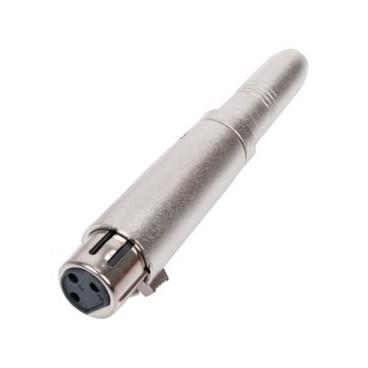 Verloop 6.3 mm naar XLR Female