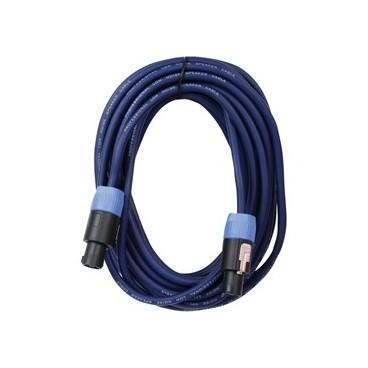 HQ Professionele Speakon - Speakon Kabel 15M, 2X2.5mm2