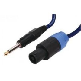 HQ Professionele luidsprekerkabel 6,35 mm male Jack - male Speakon connectoren