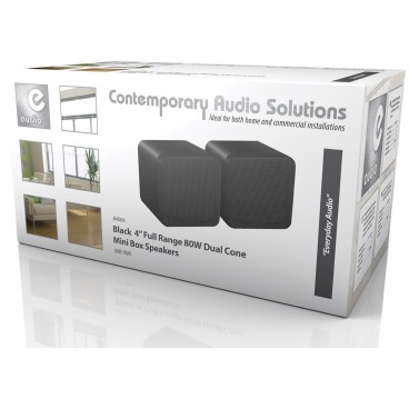 Compacte Hi-Fi / Achtergrondmuziek Speakers 2x80w