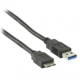 USB 3.0-kabel USB A male - micro USB B male 1,80 m