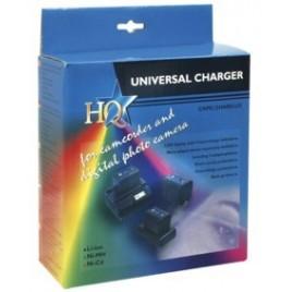 HQ Snelle Universele Camcorder-Oplader met LCD-Display