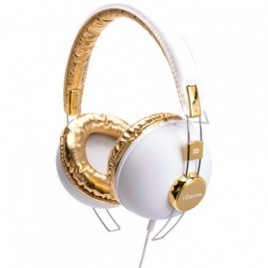 iDance Audio Hipster Series 703 Hoofdtelefoon Wit / Goud