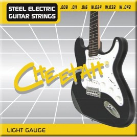 Cheetah Elektrische Gitaarsnaren Extra Lichte uitvoering
