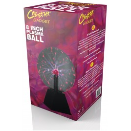 Cheetah  8 Inch (20 cm) Plasma Ball
