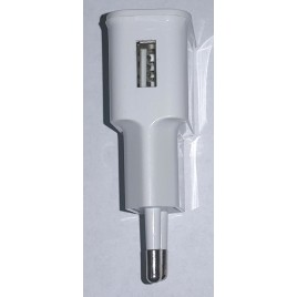 USB AC oplader 2A – wit