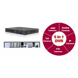 8 Kanalen HD 1080p CCTV Beveiligingscamera Set