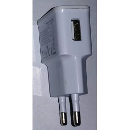 USB AC oplader 2A wit