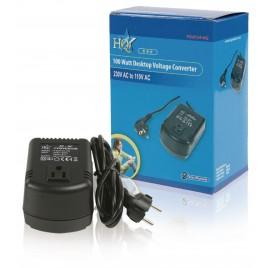HQ Spanningsomvormer 230 VAC - AC 110 V 0.9 A/100watt