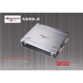 EXCALIBUR X600.2 1200 WATTS - 2-kanaals MOSFET-vermogensversterker