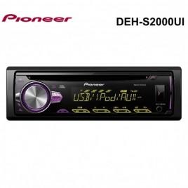 PIONEER DEH-S2000UI Autoradio met CD, USB, iPod aansluiting, AUX - Meerdere verlichtingen