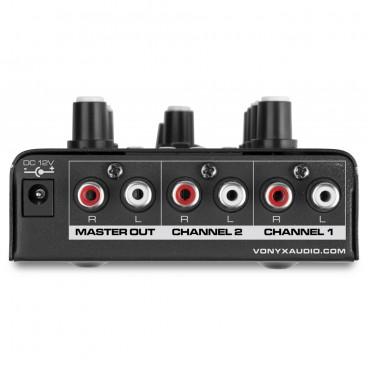 Vonyx 2-Kanaals Mixer USB / MP3 / Bluetooth