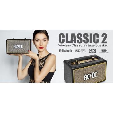 ACDC CLASSIC 2 Vintage Portable Bluetooth Speaker