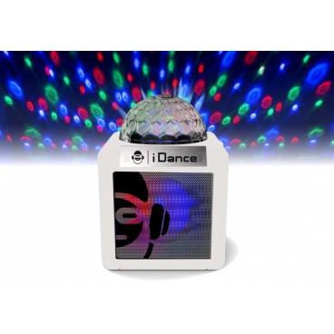 iDance Speakers White Karaoke speaker + microfoon