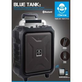 Idance BT2 Portable Speaker met Draadloze Microfoon, 100w