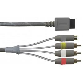 Wii-connector naar S-Video & 3 RCA (tulp) Gaming kabel