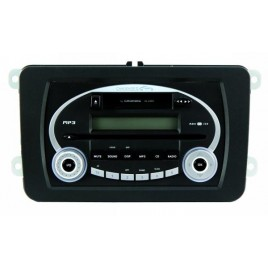 Grundig Delphi Autoradio CD / MP3/ Cassette, 1,8 DinRDS
