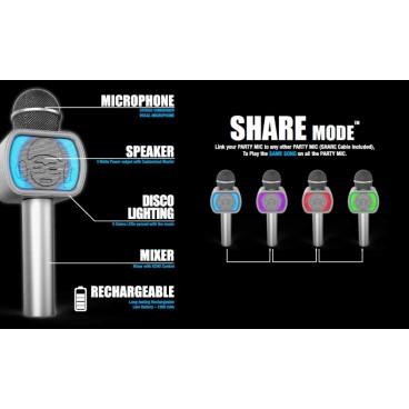 iDance Bluetooth Karaoke Party Microfoon